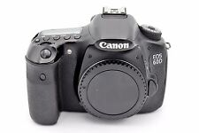 Canon EOS 60D 18.0MP Digital SLR Camera - Black (Body Only) SHUTTER COUNT: 20