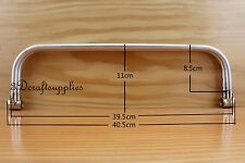 16 inch metal frame aluminum tubular internal hinge Bag frame purse frame Z15