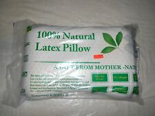 latex pillow 100% natural latex & cot cover design for side sleepers dunlop tech