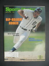 Sports Illustrated March 24, 1980 Kirk Gibson Detroit Tigers NCAA Peete Mar '80
