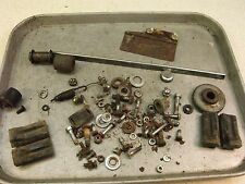 1973 honda st90 trail scooter h719-1~ misc hardware nuts bolts ect