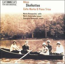 N. Skalkottas - Cello Works & Piano Trios [CD New]