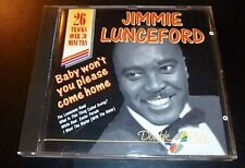 "JIMMIE LUNCEFORD ""Baby Won't You Please Come Home"" CD 26-Tracks Made in EEC -VG-"