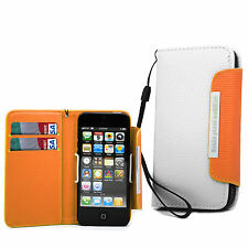 Wallet Leather Flip Case Book Cover For Apple IPhone 4 4S, 5 5S SE, 5C , Touch 4