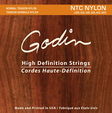 Godin cuerdas de para/Strings for Godin multiac y clásica guitarras NTC