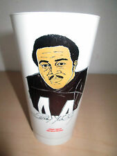 1973 7-ELEVEN NFL FOOTBALL SLURPEE CUP. LEROY KELLY, CLEVELAND BROWNS.