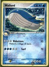 Pokemon # WAILORD # EX Rubino & Zaffiro 14/109 - Italiano