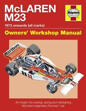Formula 1 McLaren M23 Haynes Manual James Hunt & Emerson Fittipaldi H5312 NEW
