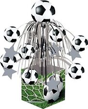 Football Soccer Birthday Party Foil Table Centrepiece Decoration