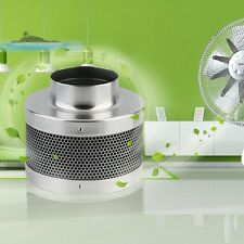 """New 4"""" Air Carbon Charcoal Filter Inline Fan Scrubber Odor Control Hydroponic MG"""