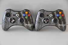 Official OEM Genuine Microsoft xbox 360 Wireless Controller MW3 Lot of 2