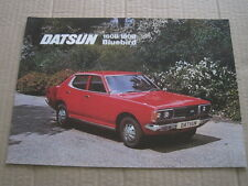 NISSAN-DATSUN BLUEBIRD 610 SALOON-ESTATE-COUPE SSS c1975.