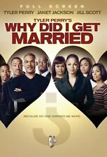 NEW Tyler Perry's Why Did I Get Married? (Full Screen Edition) (DVD)