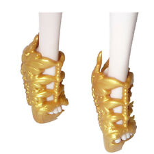 For Cleo De Monster High Doll Creating A Monter Chic High Heels Shoes Golden 13#