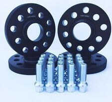BMW 5 Series 12mm and 25mm set Hubcentric wheel spacer 72.6mm CB 5x120 inc bolts