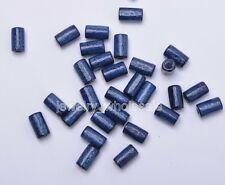 100pcs 300pcs Charms Wood Tube Loose Spacer Beads 4.5x8mm 15 Color U Pick