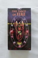 NEW The Tarot of Fire Cards Deck Lo Scarabeo DISCOUNTED FOR DENTED BOX