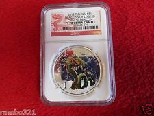 2012 1 oz Proof Silver Dragons of Legend - Chinese Dragon NGC PR70 pcgs .999