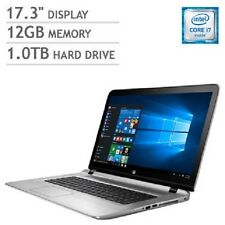 "NEW HP ENVY 17t Laptop Notebook PC Computer i7 17.3"" 12GB 1TB 4GB Graphics 1080p"