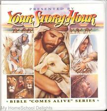 New YOUR STORY HOUR BIBLE COMES ALIVE #5 12 CDs Audio SET New Testament Stories