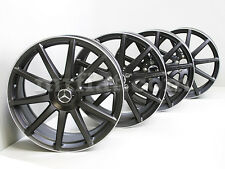 Mercedes S-Class Genuine AMG Forged Black Wheels Set C217 W222 New