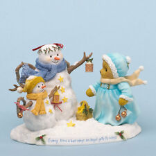 Cherished Teddies~NOELLE WITH SNOWMEN~NEW 2013!!~FREE SHIP