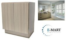 "27"" European Style Bathroom Vanity / Plywood Door Cabinet - Birch Wood pattern"