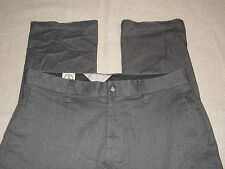 VOLCOM PANTS CHINO ~FRICKIN MODERN STRETCH PANTS~GRAPHITE CHARCOAL GRAY MEN'S 32