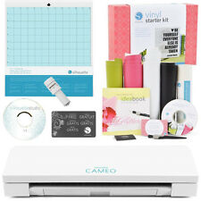 SHIPPING Silhouette CAMEO 3 With Bluetooth, Auto Blade And Vinyl Starter Bundle