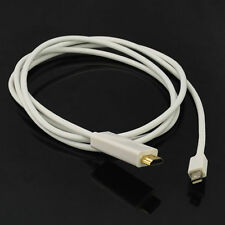 1.8M Thunderbolt Mini DisplayPort to HDMI Converter Cable for Macbook Air/Pro UK