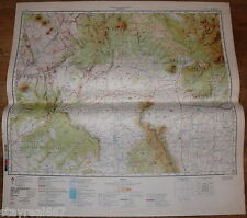 Authentic Soviet USSR Military Topographic Map Cortez, Colorado, USA #122