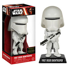 STAR WARS THE FORCE AWAKENS FIRST ORDER SNOWTROOPER BOBBLE HEAD  - NEW IN STOCK