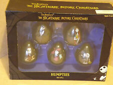 The nightmare before christmas alimentations set of 5. collections.