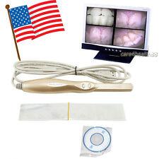 USA! Dental Intraoral Intra Oral Camera USB Dynamic 4 Mega Pixels LED + Software
