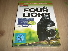 Four Lions 3-Disc Limited Collector´s Edition Blu-Ray + DVD Mediabook