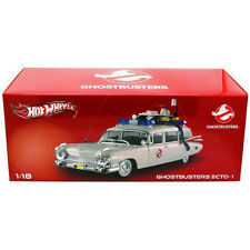 Hot Wheels Ghostbusters Ecto-1 Heritage 1:18 Scale Diecast ~Factory Sealed~