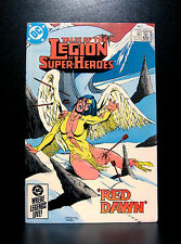 COMICS: DC: Legion of Super-Heroes #321 (1980s) - RARE (flash/batman/wonder)