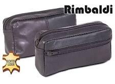 Rimbaldi Große Leder Schlüsseltasche Schwarz 6011609