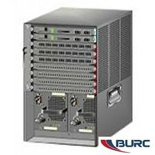 Cisco WS-C6509-E Chassis W DUAL Power Supply 6509-E 1YearWarranty 2+Available
