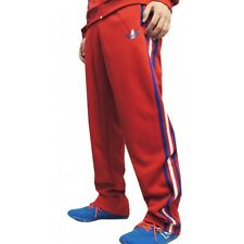 SIZE EXTRA-SMALL - ADIDAS ORIGINALS 3 STRIPES FIREBIRD TRACK PANTS - RED
