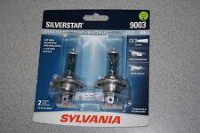 Sylvania Silverstar 9003/H4 Pair Set High Performance Headlight Bulbs NEW