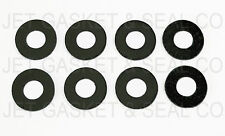 PACK OF 8 BLACK EPDM RUBBER GUITAR STRAP LOCKS HIGH QUALITY MADE IN THE USA