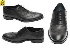 *850*Muga Herren Schuhe Echtleder Gr.41 Schwarz