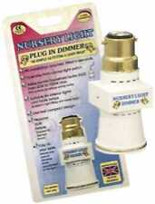 NURSERY Light Plug in Night Light Dimmer Adapter NEW BABY Present Gift  UK Stock