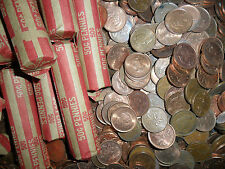 (AC0148504) One Roll Canada Pennies(Canada melting down pennies)Getting RARE)