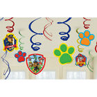 PAW PATROL Dangling Swirl Decorations Birthday Party Supplies Favor Pack