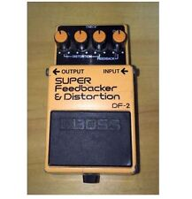 BOSS SUPER Feedbacker & Distortion DF-2 Guitar Effect Pedal F/S Made In Japan