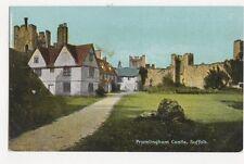 Framlingham Castle Vintage Postcard Suffolk 347a