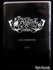 BULLET FOR MY VALENTINE The Poison Live At Brixton DVD. Brand New & Sealed