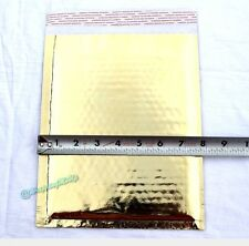 60 -6x10 ~Gold|Silver|Red|Black Combo Pack Metallic Foil Poly Bubble Mailers
